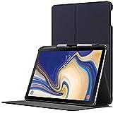 Forefront Cases Smart Hülle kompatibel für Samsung Galaxy Tab S4 10.5 | S-PEN Stifthalter | Magnetische Cover Galaxy Tab S4 10.5 Zoll Tablet-PC SM-T830/T835 | Auto Schlaf Wach Dünn Leicht | Marineblau