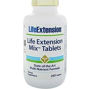 Life Extension Mix, Multivitamin, 240 Tabletten