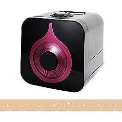 WO NICE Humidificateur 4.5L sans Eau Protection Contre Le Brouillard Froid Humidificateur Muet 0 Fonction de Purification par rayonnement Même Brouillard Humidificateur réglable pour Brouillard Froid