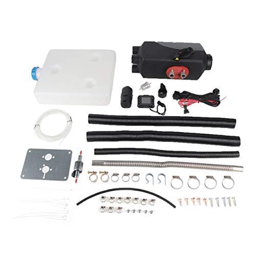 FHJZXDGHNXFGH 12V 5000W 4 Orificios LCD Schalter Air Diesel Calefactor para Autos Camiones Home Boats...
