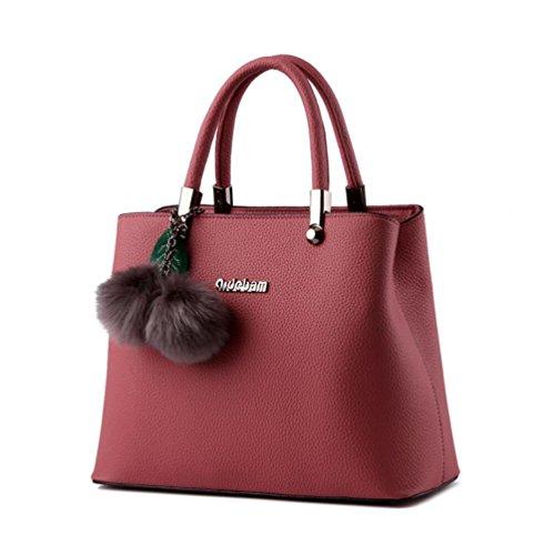 XibeiTrade - Sacchetto Ragazza donna Dark Pink