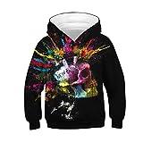 i-uend 2019 Jungen Mantel - Teen Kids Girl Boy Zipper Hoodie Sweatshirt Fleece Pullover Kapuzenhemden Tasche für 4-13 Jahre