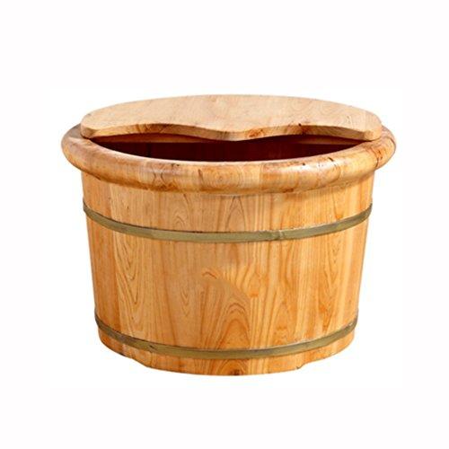 NAN Reducing stress Haushalt mit Deckel Cedar Barrel Fußbad Barrel Footbath Fuß Badewanne Foot Bath Barrel Foot massage