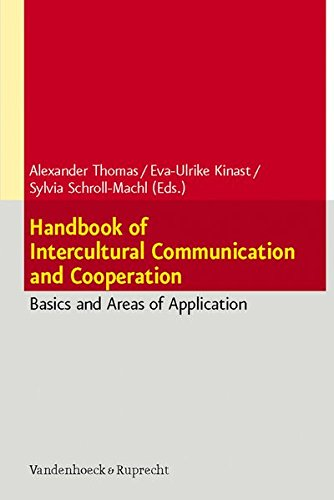 1: Handbook of Intercultural Communication and Cooperation: Basics and Areas of Application