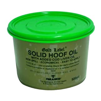 Gold Label - Solid Horse Hoof Oil Natural x 500 Ml Gold Label – Solid Horse Hoof Oil Natural x 500 Ml 41Tk 2BxmWpPL