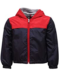 MONCLER 2745Y Giacca antivento Bimbo Boy IZON Blue/Red Wind Stopper Jacket