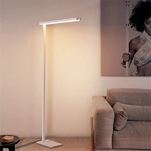 CASEY-L Led Stehleuchte, Wohnzimmer Schlafzimmer Studie Lesen Nordic Vertikale Lampen Einfache Post Moderne Eye Weiß Dekoration Warm Light