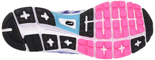 Nike Zoom Vomero 9, Chaussures de Running Entrainement Femme Bleu (Lyon Blue/Black/White)