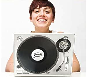 ELECTRO JOE - Sticker ordinateur portable Abstract The DJ