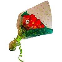 Ramo de rosas DODOT 12 pañales rojo