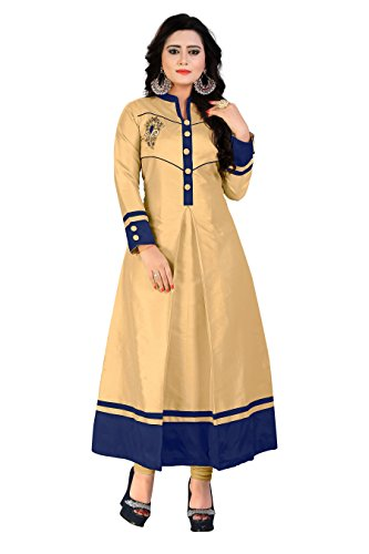 BEST party wear Women's A-line Designer kurti - COMFORTABLE Princess cut stitched...