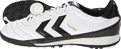 Hummel Old School DK Turf Fußballschuhe weiß white-black, 47 (UK 12)