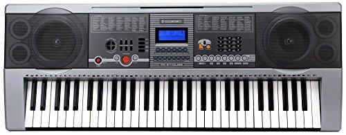 McGrey PK-6110USB Clavier avec 61 Touches USB/Lecteur MP3 et un Pupitre à Musiqu