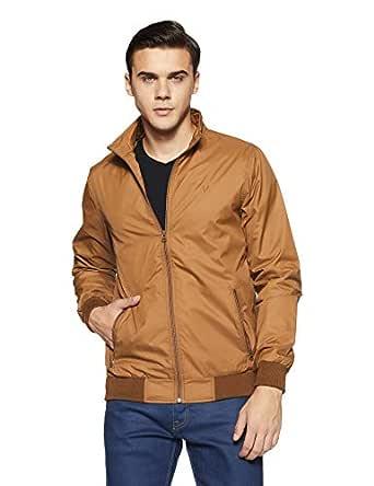 Allen Solly Men's Jacket (ASJKOBOPZ49688_Light Brown_S)