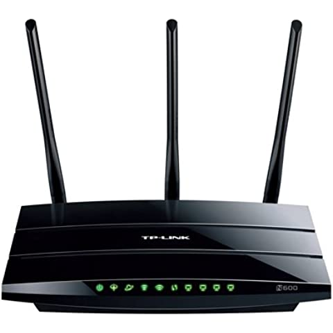 TP-Link TD-W9980 Modem Router Wireless N600, Dual Band, VDSL2/ADSL2+, 4