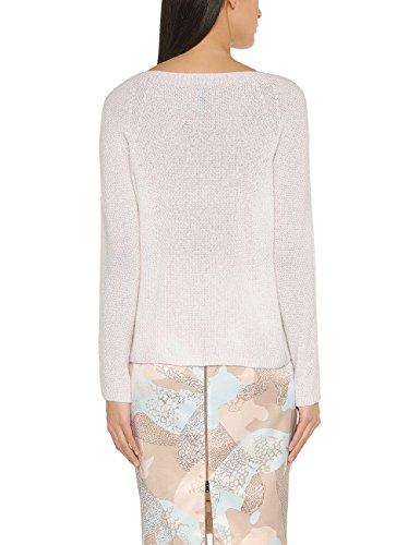 Marc Cain Collections Damen Sweatshirt Elfenbein (off-white 110)