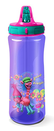 Trolls Drinks Bottle, Purple, 590 ml Test