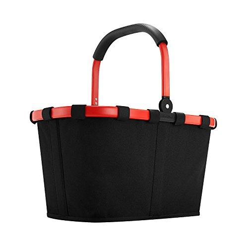 Reisenthel BK7039 polyester de panier, 48 x 29 x 28 cm, noir / rouge