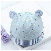 Cappellino neonato Berretto Fetal Cap Neonato Orecchio Bambino Orecchio  Cappuccio Berretto Imbottito Morbido per 0- aaf21724387b