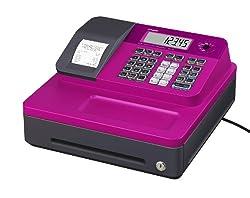 Casio SE-G1SB-PK Registrierkasse mit kleiner Geldlade, Thermodruck Kundenanzeige, pink - Für Deutschland und Österreich nicht geeignet