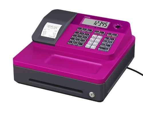 Casio SE-G1SB-PK Registrierkasse mit kleiner Geldlade, Thermodruck Kundenanzeige, pink