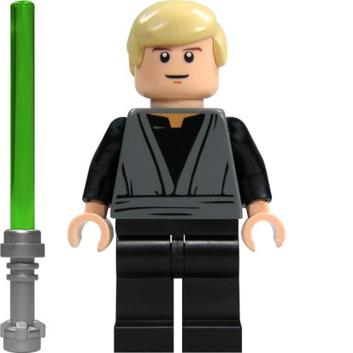 LEGO Star Wars Minifigur Luke Skywalker mit Laserschwert (aus dem Bausatz 9496)