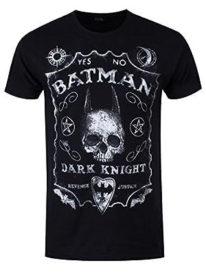 Batman T-Shirt Chevalier Noir Homme Noir Sous Licence Officielle