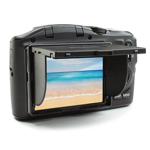 ENHANCE Schermo LCD Universale Paraluce per Fotocamere DSLR e Digitali Compatte con Schermi LCD da 3 Pollici Formato 43 Canon Sony Panasonic e Altri