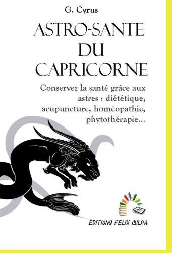 Astro-santé Capricorne