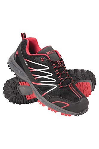 Mountain Warehouse Zapatillas de Correr Impermeables Enhance para Hombre - Zapatillas Informales Transpirables...
