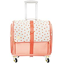 We R Memory Keepers – 360 Crafter 's Rolling bag-blush Dot