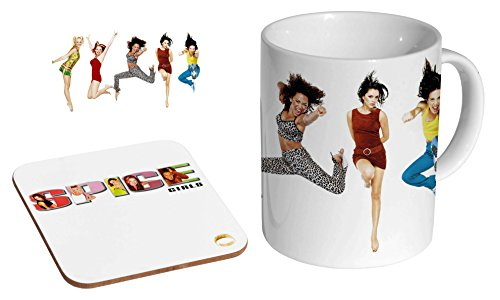 Spice Girls Ceramic Coffee Mug and Coaster