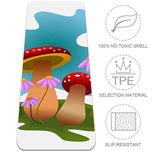 TPE ecológico:La esterilla de yoga está hecha de material TPE de alta calidad.TPE tiene alta densidad,alta elasticidad,100% no tóxico,insípido y sin productos químicos nocivos.El costo de producción de TPE es relativamente alto.En comparación con las...