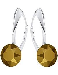 Beforya Paris    IMPECCABLE BRILLANTS  Silber 925  Viele Farben  -  Ohrringe mit Kristallen von Swarovski® - Schön Ohrringe… a374a26110