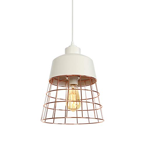 AMZ BCS Moderno y Simple IKEA Luz de Techo Vintage Led Salón Industrial Elementos de diseño Vintage Forma de Cono Industrial Lámpara Colgante