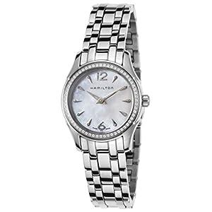 Hamilton Reloj de Mujer Cuarzo Suizo 27mm Correa y Caja de Acero H32281197