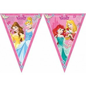 Disney 47093 Princess Party Decoration Banner Triangle Flag by Procos