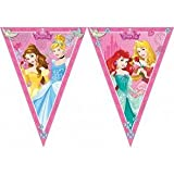 Disney 47093 Princess Party Decoration Banner Triangle Flag