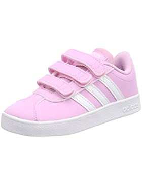 Adidas VL Court 2.0 CMF C, Zapatillas de Gimnasia Unisex Niños