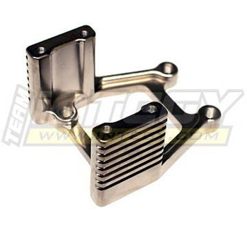 Integy Hobby RC Model T7107C Alloy Engine Mount for MGT (.21 Engine Only)