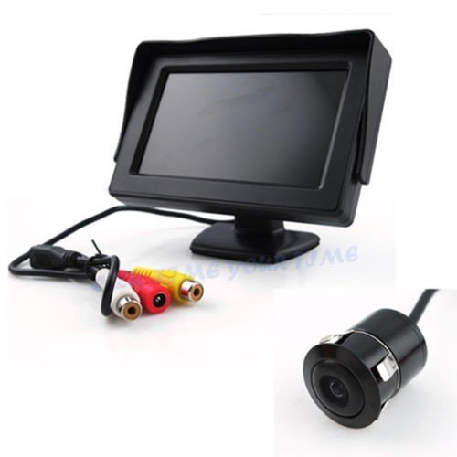 autotrends combo of car rear view kit and tft lcd monitor with car reversing camera Autotrends Combo of Car Rear View Kit and TFT LCD Monitor with Car Reversing Camera 41TkEx8eadL