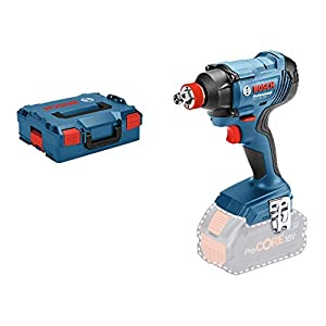 Bosch Professional GDX 18V-180 Llave de impacto a batería, sin batería, 180 Nm, tornillos hasta M14, en L-BOXX, 18 V