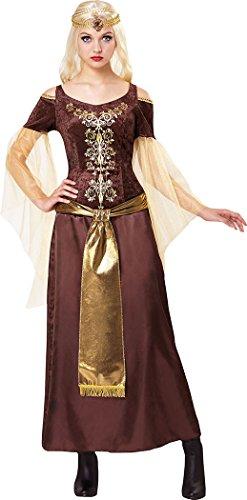 Dienstmädchen Kostüm Tudor - onlyglobal Verkleidung Kostümparty Tudor Renaissance Dienstmädchen mittelalterlich Damen-Kostüm UK Größe 10-12