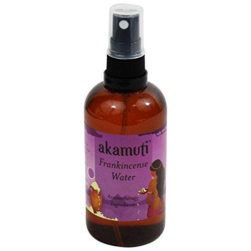 AKAMUTI - Destilliertes Weihrauch Wasser - Ideal für reife Haut oder matten & energielosen Teint - Klärt & verjüngt die Haut