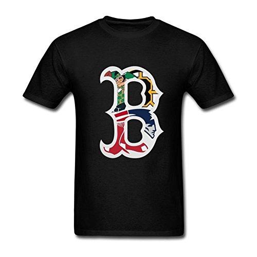 Flip rings New England Patriots Boston Celtics Logo T Shirt For Men S