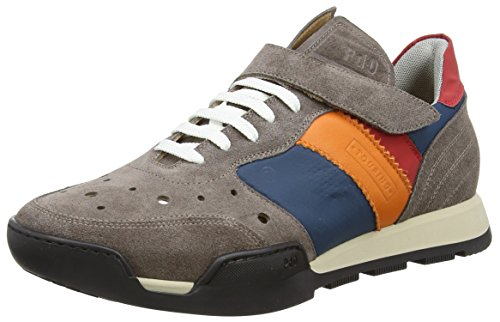 Pantofola d'Oro Touring Low, Baskets Basses homme Multicolore - Mehrfarbig (APS ALMOND/PETROLIO/SALMONE)