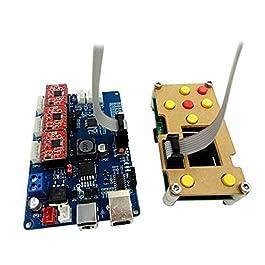 QPX grbl triassiale Scheda di Controllo + grbl Controller Offline Schermo a Cristalli liquidi