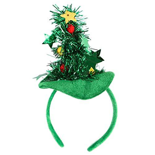 Haustier Stirnband Weihnachtsbaum Hut Hund Headwear Haustier Kostüm für Hunde Katzen ()
