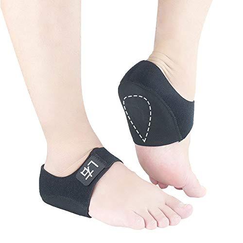 Tcare 1Pair Nylon Gel Shock Absorption Fersenärmel - Das Beste für den Schutz Ihrer schmerzenden Füße vor den Schmerzen von Plantarfasziitis, Fußschmerzen, Fersensporn und rissigen Fersen (S) (Für Sporen Stiefel Männer)