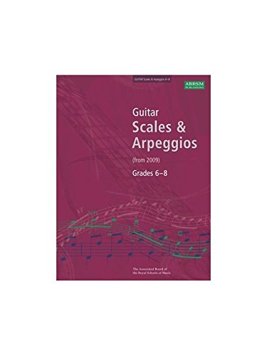 abrsm-guitar-scales-and-arpeggios-from-2009-grades-6-8-partitions-pour-guitare